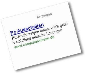 PC ausschalten