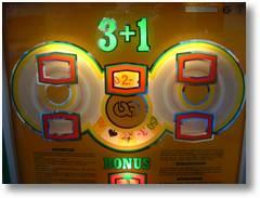 Der Grand Bonus 3+1, ein deutsches Geldspielgerät aus den späten Siebziger Jahren