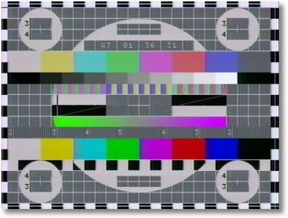 eLeckTronnish tEst paTtern phonn Russkij TV