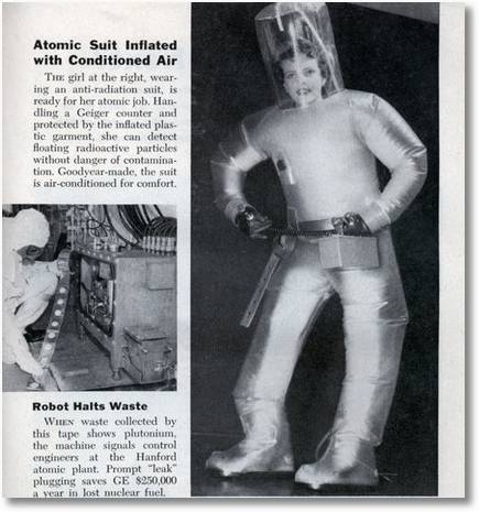 Atomic Suit Inflated with Conditioned Air