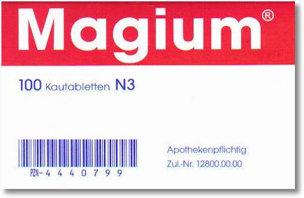 Magium 100 kautabLetten