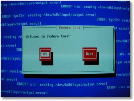 Lotsa sucking error messages