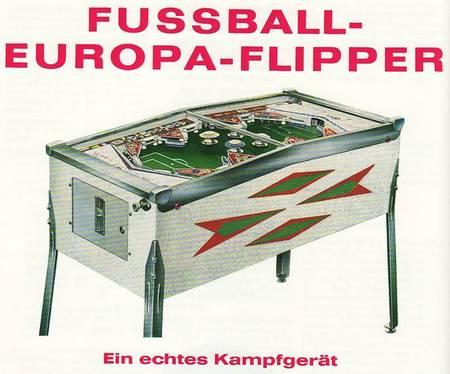 Fussball-Europa-Flipper - Ein echtes Kampfgerät