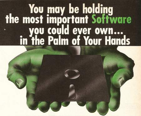 You may be holding the most important Software you could ever own... in the Palm of Your Hands