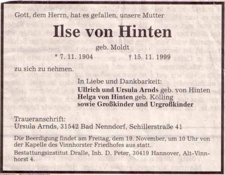 Von Hinten!