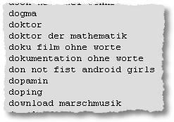 dogma - doktor - doktor der mathematik - doku film ohne worte - dokumentation ohne worte - don not fist android girls - dopamin - doping - download marschmusik