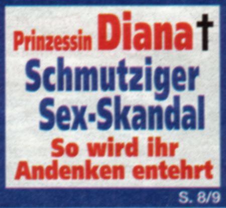 Prinzessin Diana (tot) - Schmutziger Sex-Skandal - So wird ihr Andenken entehrt - S. 8/9