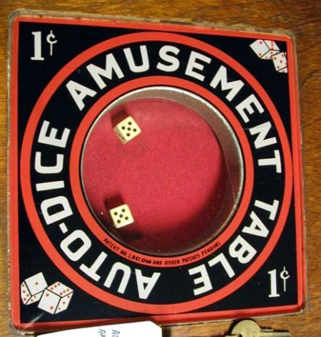 Auto-Dice Amusement Table