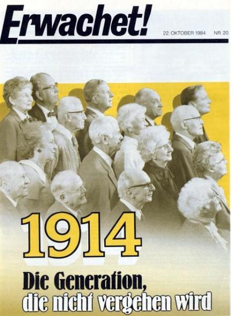 1914 - Die Generation, die nicht vergehen wird