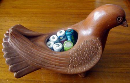 Diese Taube die hat power