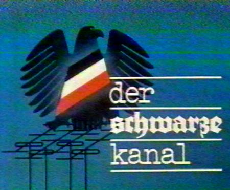 Screenshot: Der Schwarze Kanal, DDR-Fernsehen