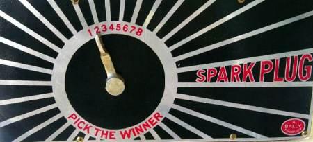 1 2 3 4 5 6 7 8 PICK THE WINNER SPARK PLUG