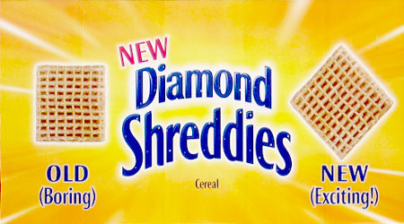 New Diamond Shreddies