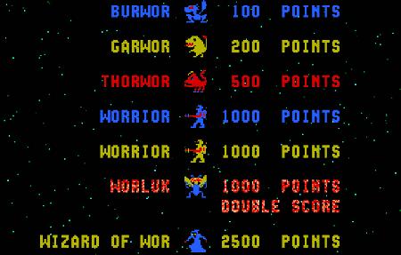 Screenshot Wizard of Wor