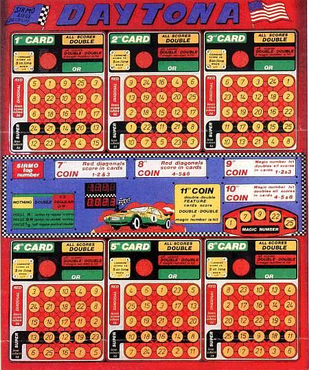 Daytona, Bingo