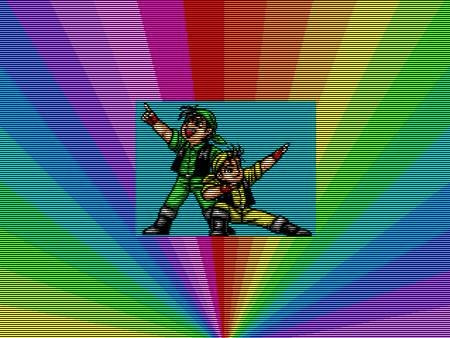 im regenbogenrechteckt