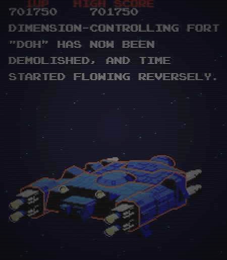 Dimension-controlling fort 'Doh' has now been demolished, and time started flowing reversely.