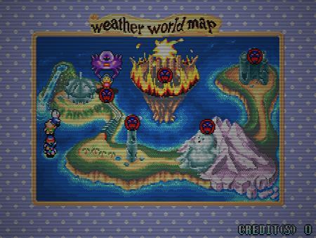 weather world map