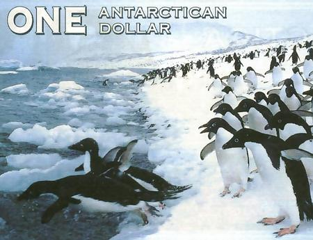 One Antarctican Dollar