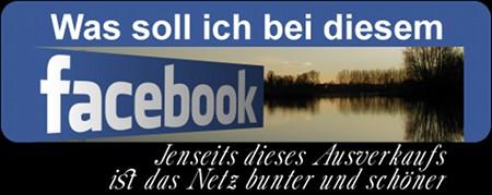 Was soll ich bei diesem Facebook? Jenseits dieses Ausverkaufs ist das Netz bunter und schöner...