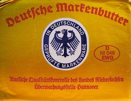 Deutsche Markenbutter