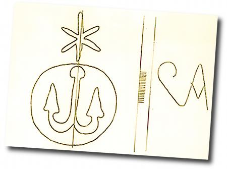 Eine kryptische Zeichnung