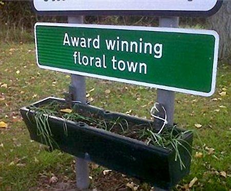 Award winning floral town