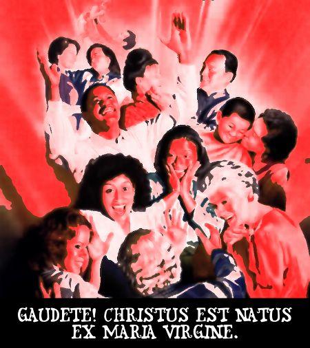 Gaudete! Christus est natus ex maria virgine