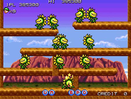 Screenshot von Tumblepop