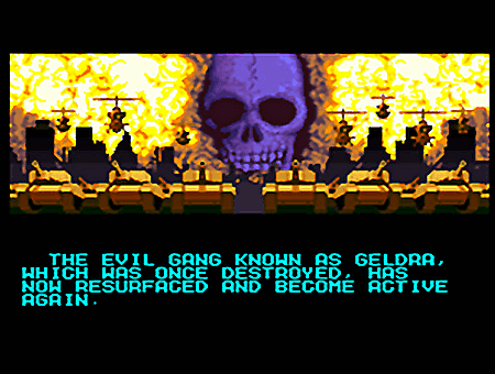 The evil gang known as geldra which was once destroyed, has now resurfaced and become active again.