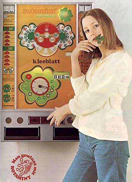 Werbung für den Rotamint Kleeblat von NSM (Baujahr 1974)