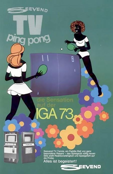 SEEVEND TV PING PONG - Ein Paddle-Ball von ganz besonderer Rasanz - Das Spielgerät völlig neuen Stils stellt Reaktionsfähigkeit und Spielgefühl auf die Probe. Alles ist begeistert!