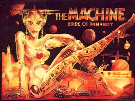 THE MACHINE BRIDE OF PIN BOT