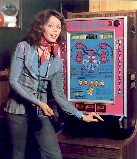 Werbung der Firma Bell-Fruit aus dem Jahr 1975