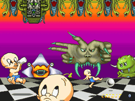 Screenshot: Jump Kids, Comad, 1993