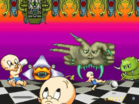 Screenshot: Jump Kids, Comad, 1993
