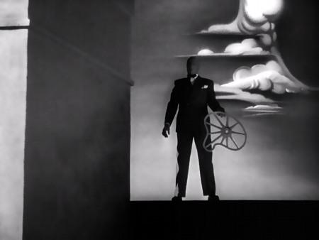 Szene aus Hitchcocks frühen Film 'Spellbound'