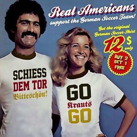 Real Americans support the German Soccer Team! Get the original German Soccer Shirt, 12$ only: SCHIESS DEM TOR BITTESCHÖN! GO KRAUTS GO!