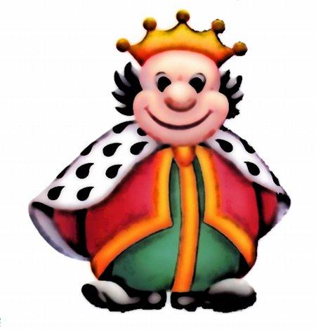 Der Hellomat-König, knuffig und wampig