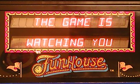 The Game Is Watching You -- FunHouse
