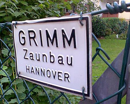 Grimm Zaunbau Hannover