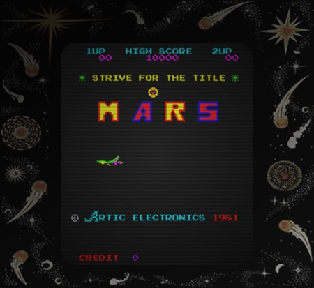 Strive for the title -- MARS -- Artic Electronics 1981