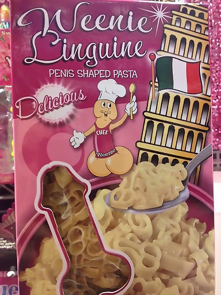 Weenie Linguine - Penis Shaped Pasta - Delicious