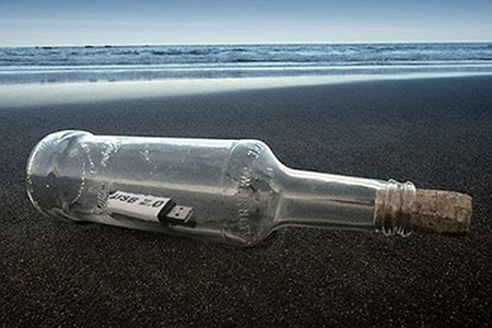 Flaschenpost mit mehr Daten