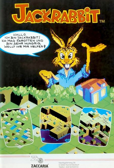 Werbung für Jack Rabbit aus dem Jahr 1984