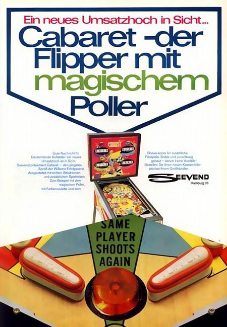 Ein neues Umsatzhoch in Sicht... Cabaret -- der Flipper mit magischem Poller