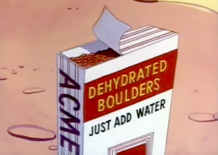 ACME Dehydrated Boulders - Just add water