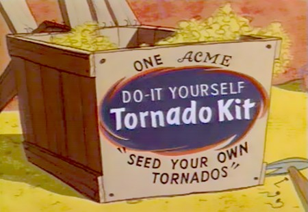 One ACME Do-It-Yourself Tornado-Kit - Seed your own Tornados