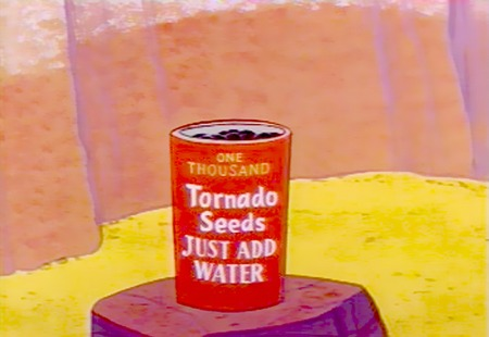 One Thousand Tornado Seeds -- Just add water