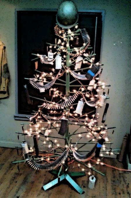 Weihnachtsbaum für Waffenfreunde